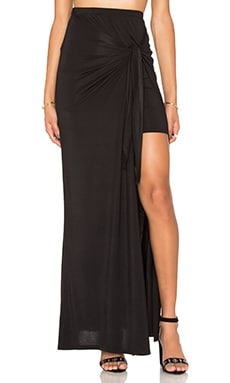 Bella Maxi Skirt in Black