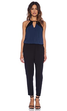 Ella Moss Bella Jumpsuit in Black & Navy