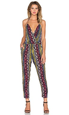 Ella Moss Wonderlust Jumpsuit in Raspberry
