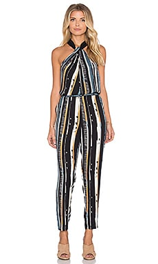 Ella Moss Rainforest Jumpsuit in Black