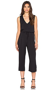 Ella Moss Stella Crop Jumpsuit in Black