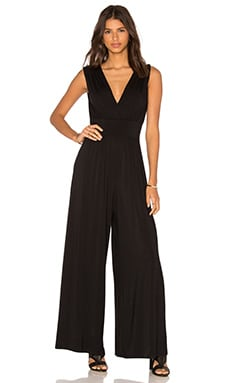 Ella Moss Bella Wide Leg Jumpsuit in Black