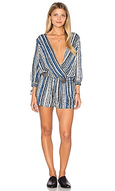 Ella Moss Kalea Romper in Denim