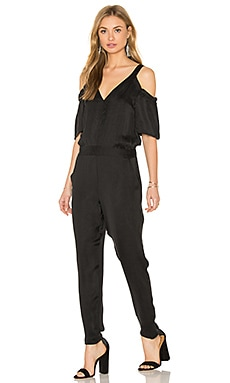 Ella Moss Cold Shoulder Jumpsuit in Black