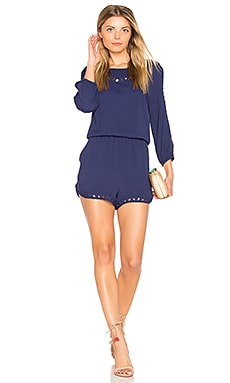 Stella Romper in Navy
