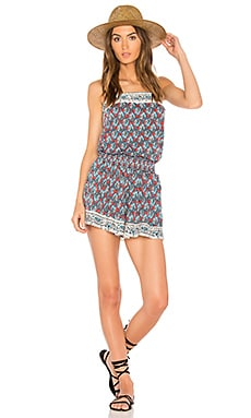 Bordeaux Tapestry Romper