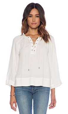 Ella Moss Stella Blouse in Natural