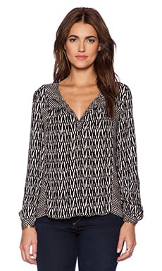 Ella Moss Tempe Blouse in Black