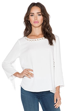 Ella Moss Stella Top in White