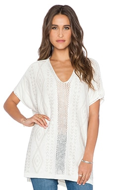 Ella Moss Casita Top in Sand