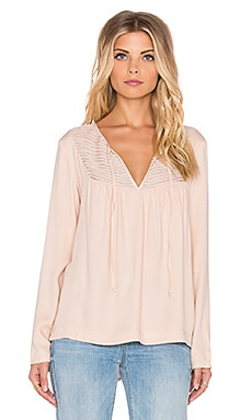 Stella Blouse in Nude