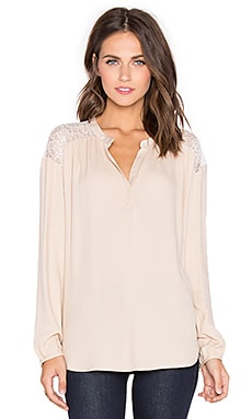 Ella Moss Amara Top in Shell
