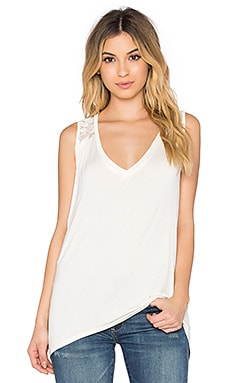 Ella Moss Desiree Tank in Natural