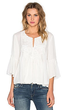 Ella Moss Desiree Blouse in Natural