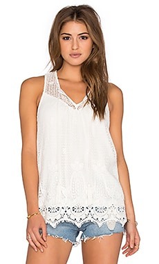 Thistle Tank in White