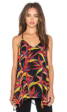 Malaya Tropical Tank in Black