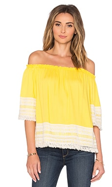 Lilita Top in Lemon
