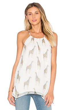 Ella Moss Michana Tank in Natural