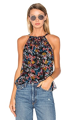 Wildflower Tank in Black