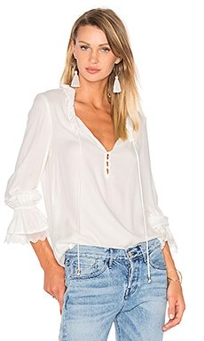 Stella Blouse en Naturel