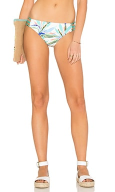 Birds of Paradise Side Strap Bikini Bottom in Multi