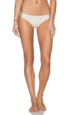 Ella Moss Boho Spider Bikini Bottom in Cream