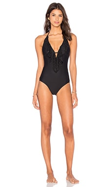 Free Spirit Swimsuit in Black