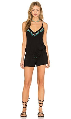 Sea Bead Romper in Multi