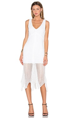 ELLIATT Flare Dress in White