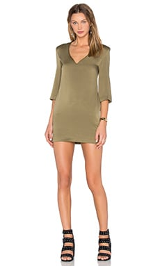 Fearless Dress in Khaki