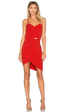 x REVOLVE The Shot Tulip Dress in Red
