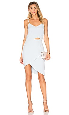 x REVOLVE The Shot Tulip Dress in Baby Blue