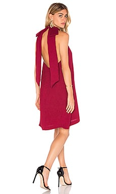 Unwrapped Dress in Berry