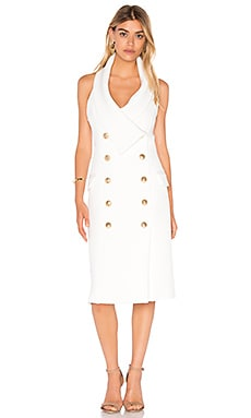 Breakthrough Dress en Blanc