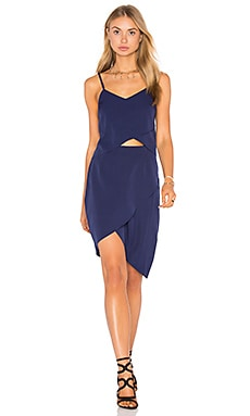 x REVOLVE Tulip Dress in Navy