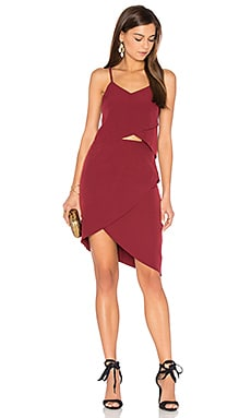 x REVOLVE Tulip Dress in Maroon