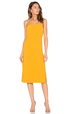 Rise Dress in Marigold Yellow