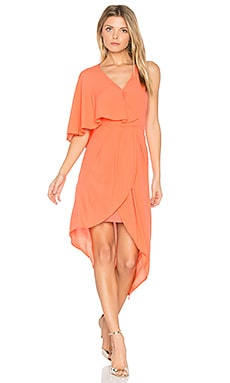 Glow Dress in Blood Orange