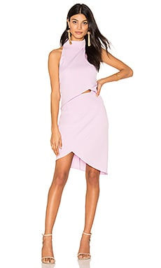 x REVOLVE Halter Tulip Dress in Lavender