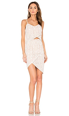x REVOLVE Tulip Dress in Floral Lace