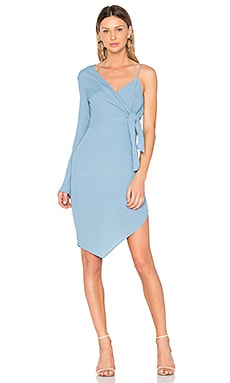 Rapture Mono Sleeve Dress en Bleu Ciel