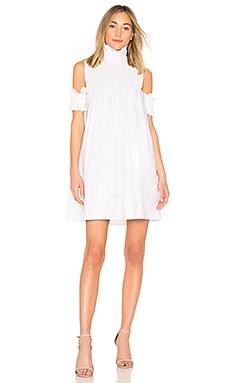 Moonlight Shirt Dress in White. - size M (also in L,S,XS) Elliatt