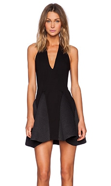 ELLIATT Front Cover Dress in Black