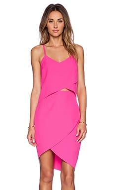 ELLIATT The Shot Tulip Dress in Fuschia Pink