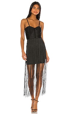 Mariana Fringe Dress ELLIATT $190