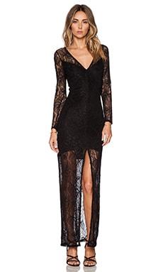 ELLIATT Visionary Maxi Dress in Black