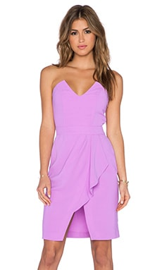 ELLIATT Moment Strapless Dress in Tulip