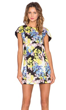 ELLIATT Botanic Shift Dress in Multi