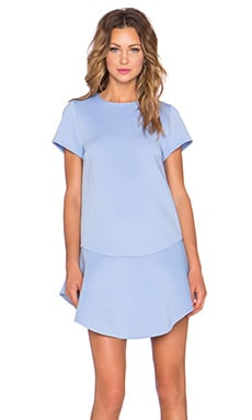 ELLIATT Monument Shift Dress in Ice Blue