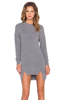 Vibe Knit Tunic in Grey